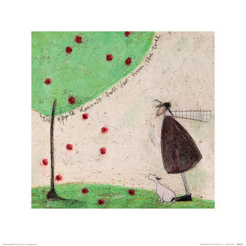Sam Toft - The Apple Doesn't Fall Far From The Tree Taidejuliste
