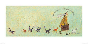 Sam Toft - The Suitcase of Sardine Sandwiches Taidejuliste