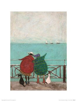 Sam Toft - We Saw Three Ships Come Sailing By Taidejuliste