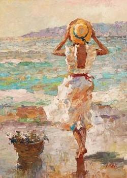 Seaside Summer I Taidejuliste