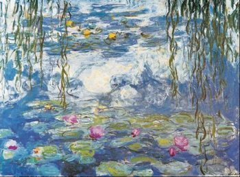 Water Lilies, 1916-1919 Taidejuliste