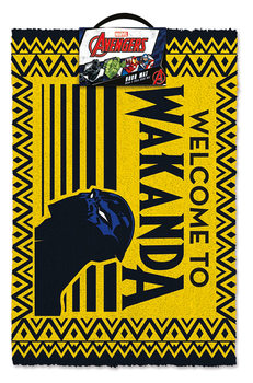 Tapete de entrada Black Panther - Welcome to Wakanda