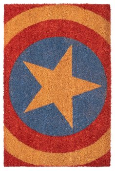 Tapete de entrada Captain America - Shield