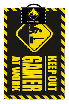 Tapete de entrada  Gamer At Work - Keep Out