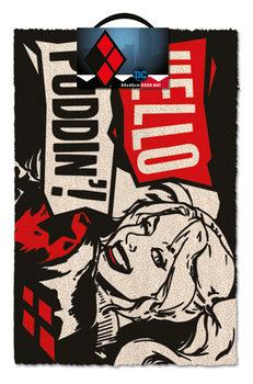 Tapete de entrada  Harley Quinn - Hello Puddin'