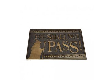 Tapete de entrada Lord Of The Rings - Shall not Pass (Rubber)