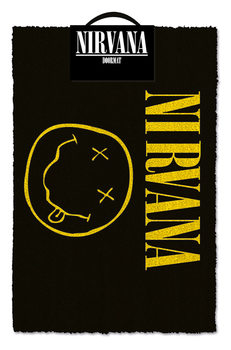 Tapete de entrada Nirvana - Smiley