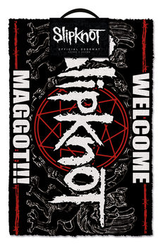 Tapete de entrada Slipknot - Welcome Maggot
