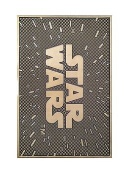 Tapete de entrada Star Wars - The Logo (Rubber)