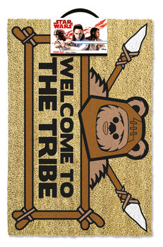 Tapete de entrada  Star Wars - Welcome To The Tribe Ewok