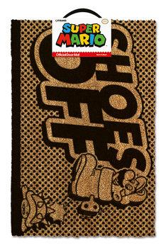 Tapete de entrada  Super Mario - Shoes Off Black