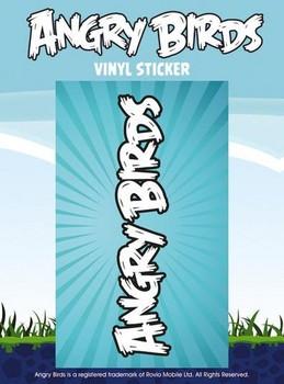 ANGRY BIRDS – logo Vinyylitarra