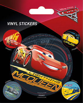 Autot 3 - Lightning McQueen Vinyylitarra
