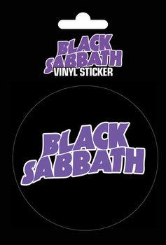 Black Sabbath - Logo Vinyylitarra