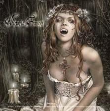 VICTORIA FRANCES - vampire girl Vinyylitarra
