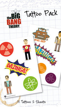 BIG BANG THEORY - bazinga  Tarratatuointi