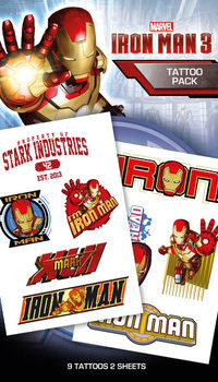 Iron Man 3 - Characters Tarratatuointi