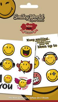 SMILEY 1 Tarratatuointi