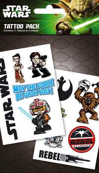 STAR WARS - rebel Tarratatuointi