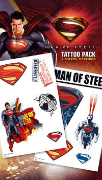 SUPERMAN MAN OF STEEL - steel Tarratatuointi