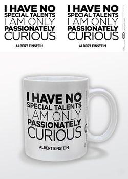 Albert Einstein - Only Curious Tasse