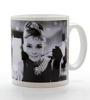 Audrey Hepburn - B&W Tasse