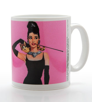 Audrey Hepburn - Pink Tasse