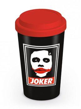 Batman The Dark Knight: Le Chevalier noir - Obey The Joker Travel Mug Tasse