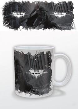 Batman The Dark Knight Rises - White Logo Tasse