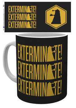 Doctor Who - Exterminate Tasse