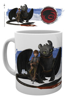 Dragons - Toothless and Hiccup Tasse