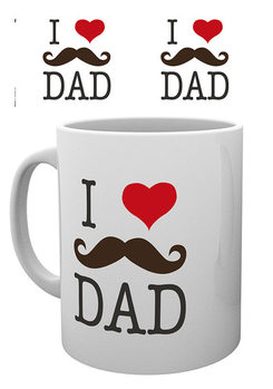 Father's Day - I Love Dad Tasse