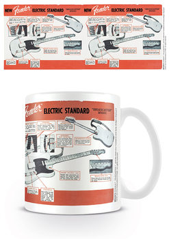 Fender - Electric Standard Tasse