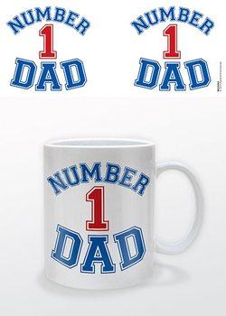 Fête des Pères - Number 1 Dad Tasse