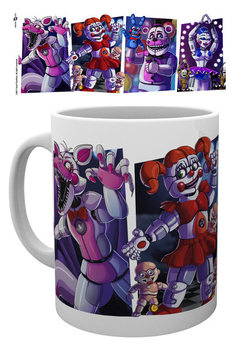 Five Nights At Freddy's - Sister Location Characters Tasse