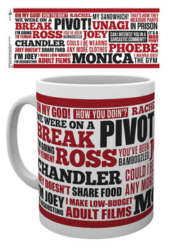 Friends TV - Quotes Tasse
