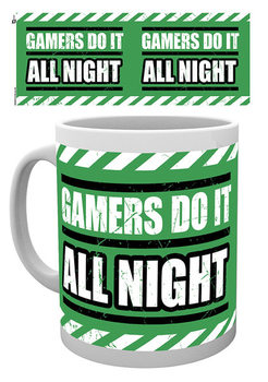 Gaming - All Night Tasse