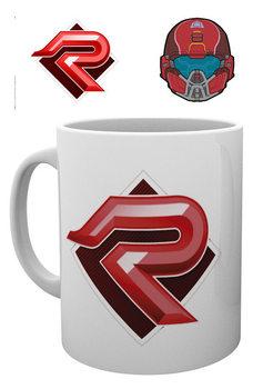 Halo 5 - PVP Red Tasse