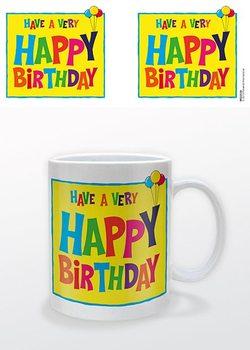 Happy Birthday Tasse