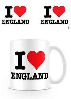 I Love England Tasse
