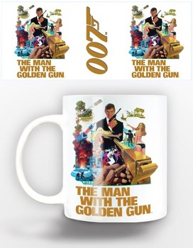 James Bond - man with golden gun Tasse