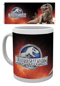 Jurassic World - T-Rex Red Tasse