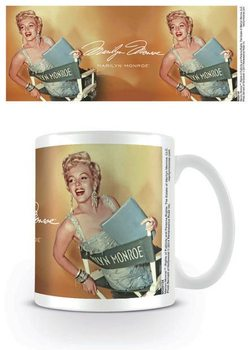 Marilyn Monroe - Gold Tasse