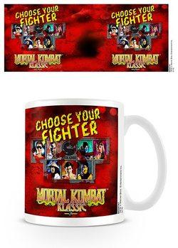 Mortal Kombat - Choose Your Fighter Tasse