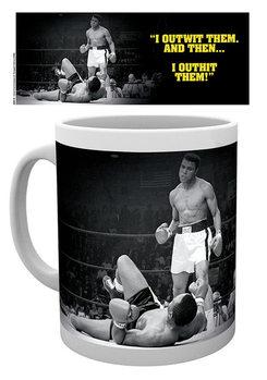 Muhammad Ali - Outwit outhit Tasse