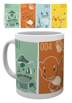 Pokemon - Starters Tasse