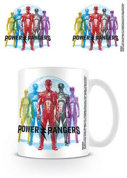 Power Rangers - CMYKR Tasse