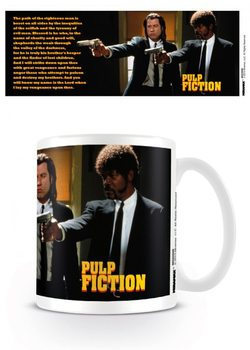 Pulp Fiction - Guns, Vincent and Jules Tasse