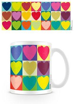 Saint Valentin - Pop Art Hearts Tasse