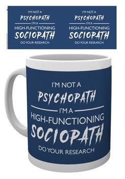 Sherlock - I'm Not a Psychopath Tasse